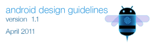 Android Design Guidelines v1.1